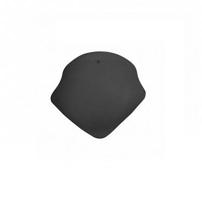 Керамическая черепица вальмовая Koramic Alegra 10 Deep Black