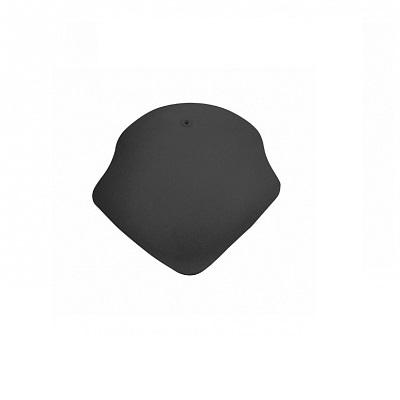 Керамическая черепица вальмовая Koramic Alegra 10 Noble Black