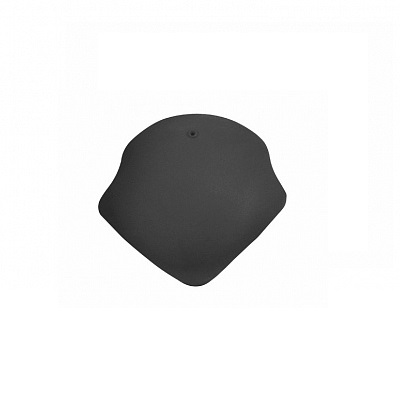 Керамическая черепица вальмовая Koramic Alegra 8 Deep Black
