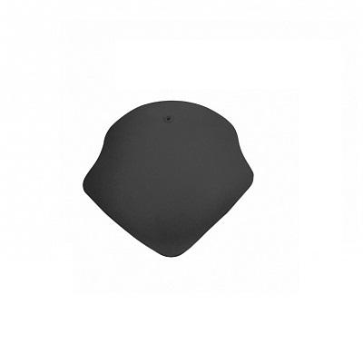 Керамическая черепица вальмовая Koramic Alegra 8 Noble Black