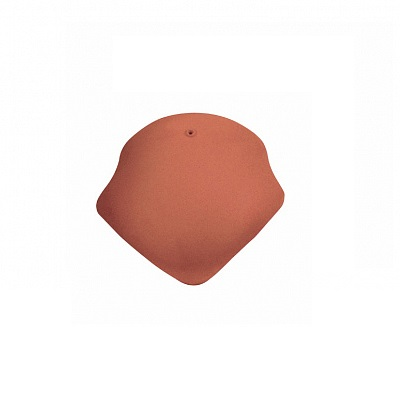 Керамическая черепица вальмовая Koramic Alegra 10 Red Engobe
