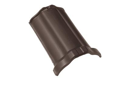 BRAAS Рубин 13V темно-коричневый ангоб