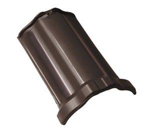 BRAAS Рубин 13V тик коричневый глазурь