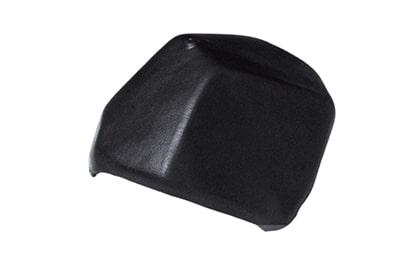 Керамическая вальмовая черепица BRAAS Изумруд черный кристалл топ-глазурь