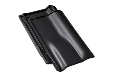 BRAAS Рубин 13V глубокий черный глазурь