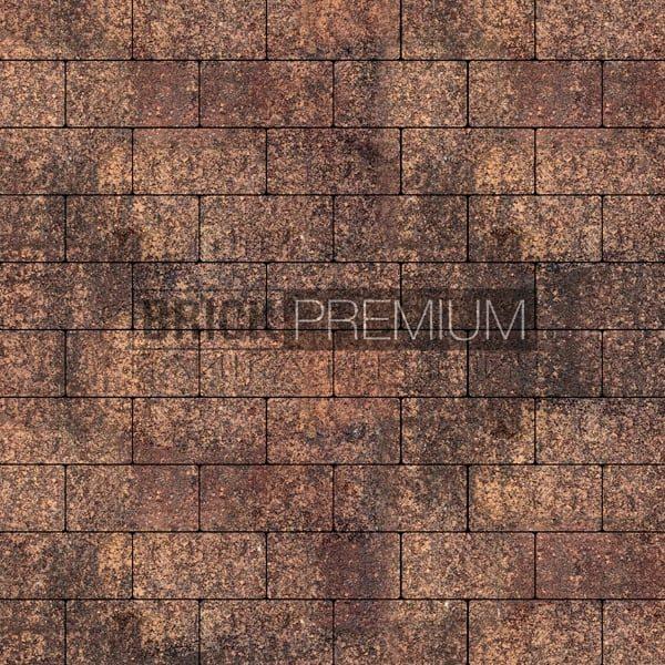 Тротуарная плитка Brick Premium Платцстоун Клинкер гранит 45 мм
