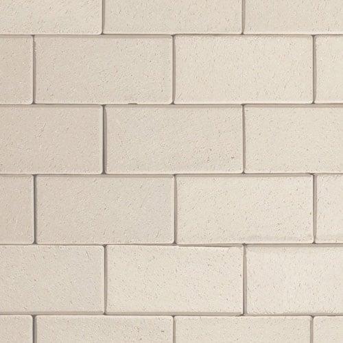 Клинкерная тротуарная брусчатка ABC Creme Weiss, 200х100х52 мм
