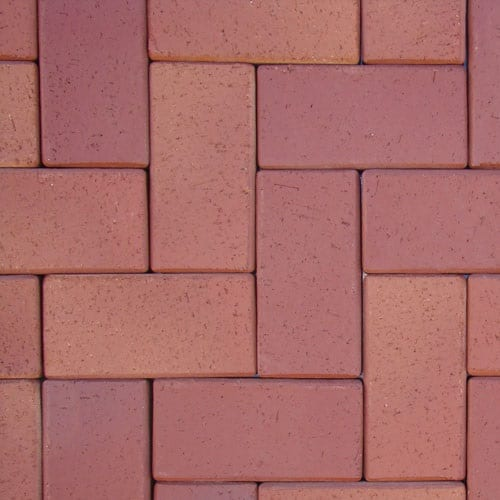 Клинкерная тротуарная брусчатка ABC Dormagen, 200х100х52 мм