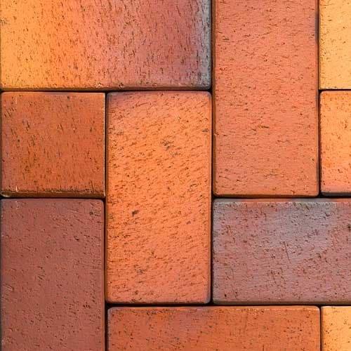 Клинкерная тротуарная брусчатка ABC Herbstlaub-geflammt, 200х100х40 мм