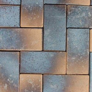 Клинкерная тротуарная брусчатка ABC Laderfarben black, 200х100х52 мм
