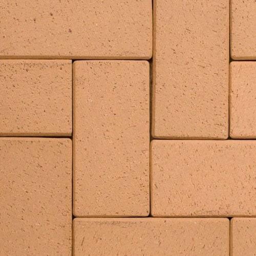 Клинкерная тротуарная брусчатка ABC Lederfarben-nuanciert, 200х100х45 мм
