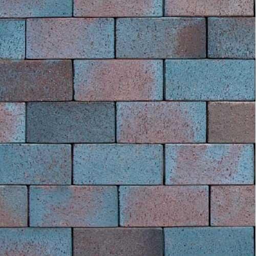 Клинкерная тротуарная брусчатка ABC Mitternachtblau, 200х78х52 мм
