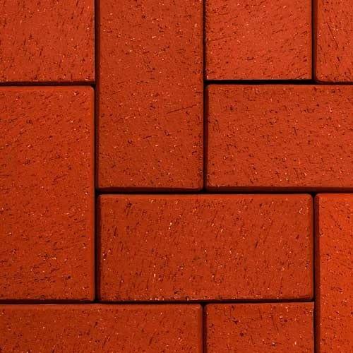 Клинкерная тротуарная брусчатка ABC Rot nuanciert, 200х105х45 мм