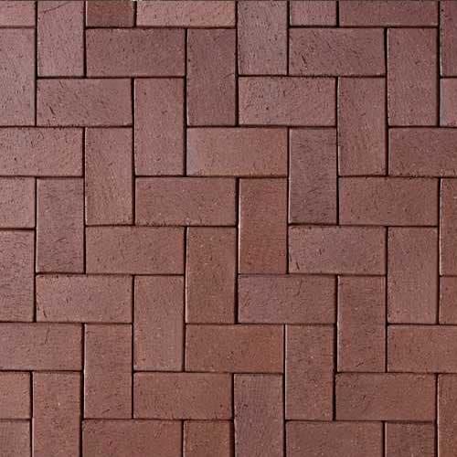 Клинкерная тротуарная брусчатка ABC Schwarz braun, 200х100х52 мм