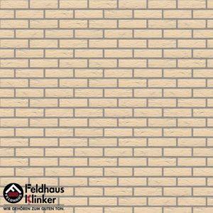 Клинкерная плитка Feldhaus Klinker Classic R140 perla senso
