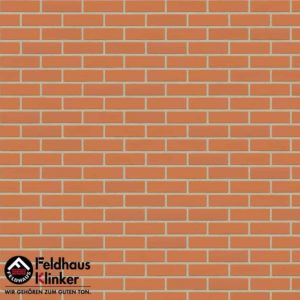 Клинкерная плитка Feldhaus Klinker Classic R220 terracotta liso