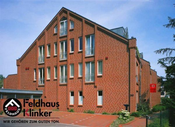 Клинкерная плитка Feldhaus Klinker Classic R400 carmesi liso