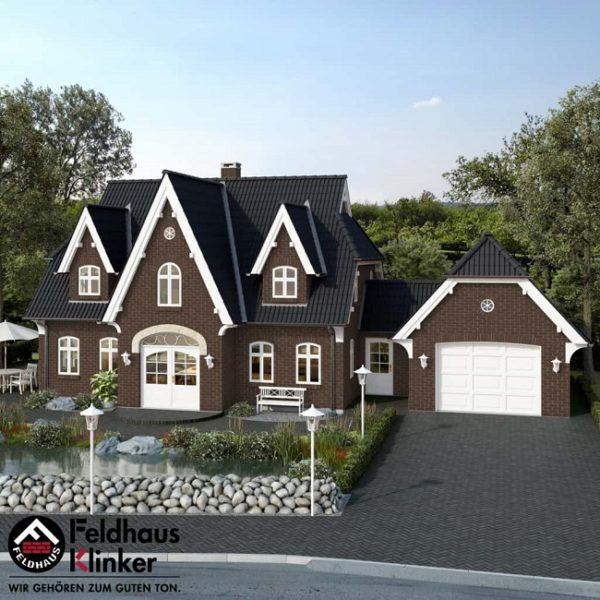 Клинкерная плитка Feldhaus Klinker Classic R540 geo senso