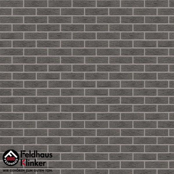 Клинкерная плитка Feldhaus Klinker Classic R735 anthracit mana