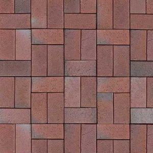 Клинкерная тротуарная брусчатка ABC Kiel-Heidebunt, 200х100х52 мм