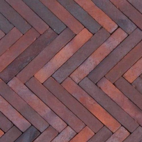Клинкерная тротуарная брусчатка ABC Malmo blau-braun Schmolz, 292х71х71 мм