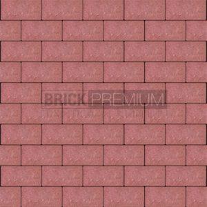 Тротуарная плитка Brick Premium Платцстоун Красный гладкая 45 мм