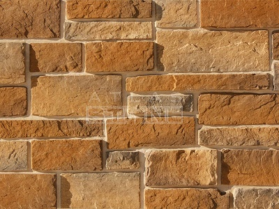 Искусственный камень Атлас Стоун Крепостная стена 098