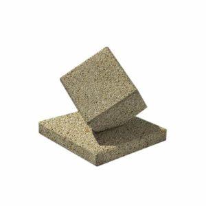 Ландшафтный элемент ВЫБОР КУБ-2 Медовый Мытый бетон