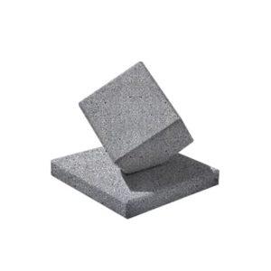 Ландшафтный элемент ВЫБОР КУБ-2 Серый Мозаичный бетон