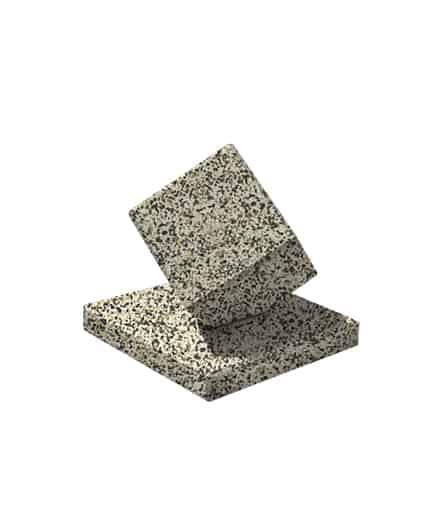 Ландшафтный элемент ВЫБОР КУБ-2 420420420 Бело-черный Мытый бетон