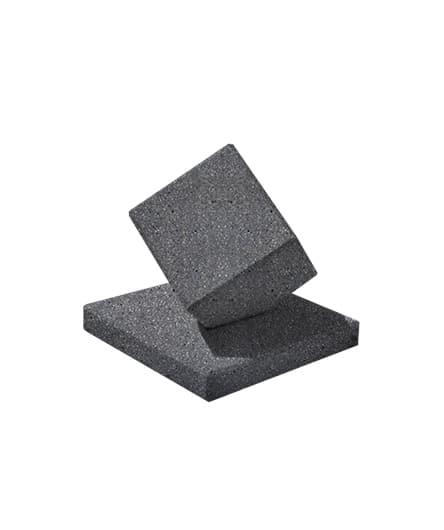 Ландшафтный элемент ВЫБОР КУБ-2 Черный Мозаичный бетон