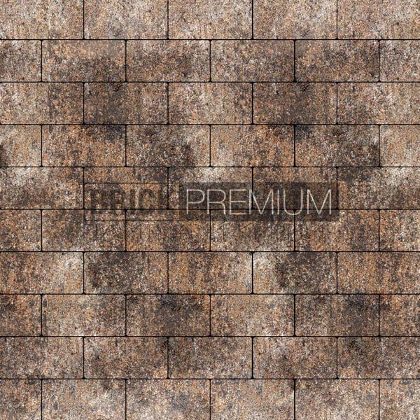 Тротуарная плитка Brick Premium Платцстоун Либерика гранит 45 мм