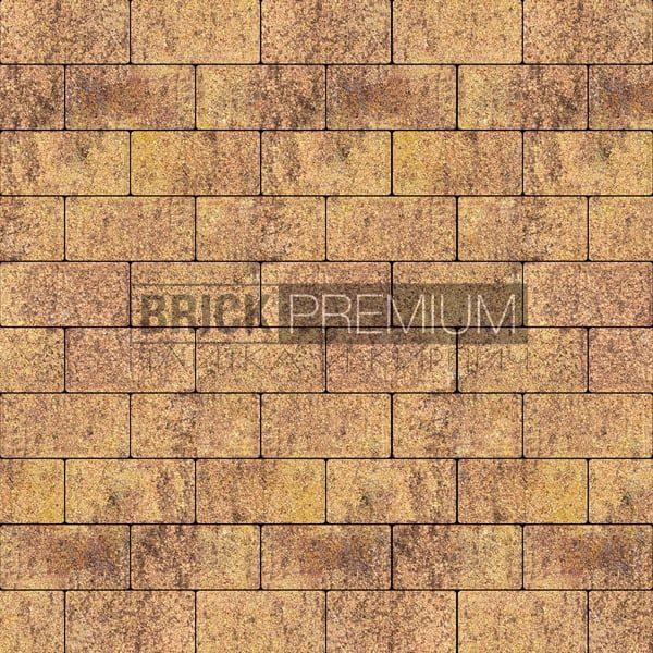 Тротуарная плитка Brick Premium Платцстоун Листопад гранит 65 мм