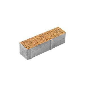 Тротуарная плитка ВЫБОР Листопад гранит Паркет 360*80*80 мм Сахара