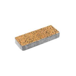 Тротуарная плитка ВЫБОР Листопад гладкий Паркет 600*200*80 мм Сахара