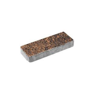 Тротуарная плитка ВЫБОР Листопад гладкий Паркет 600*200*80 мм Сиена