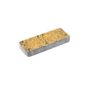 Тротуарная плитка ВЫБОР Листопад гранит Паркет 600*200*80 мм Соты