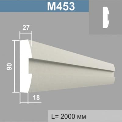 Молдинг Джем Декор М453