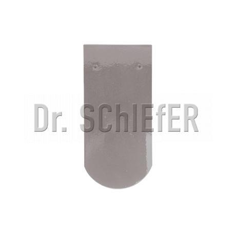 Керамическая рядовая черепица Meyer-Holsen Biber маркато кремнево-серый