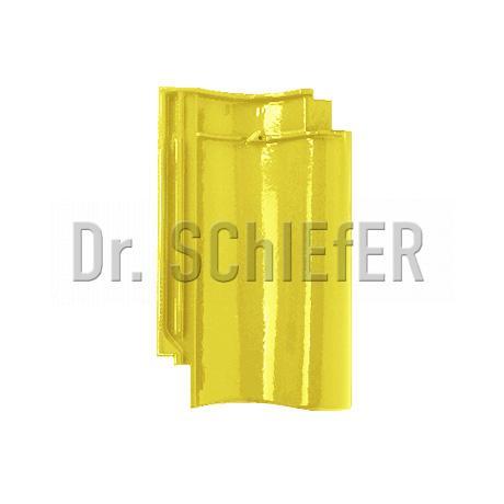 Керамическая рядовая черепица Meyer-Holsen Vario Hohlfalzziegel маркато рапсово-желтый