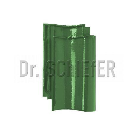 Керамическая рядовая черепица Meyer-Holsen Vario Hohlfalzziegel маркато светло-зеленый