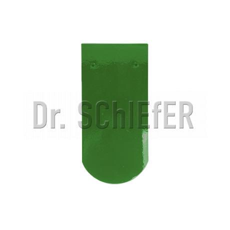 Керамическая рядовая черепица Meyer-Holsen Biber маркато светло-зеленый