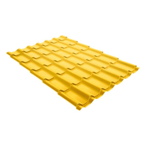 Металлочерепица Grand Line классик 0,45 Полиэстер цинково-жёлтый