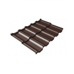 квинта Uno 0,5 Atlas RAL 8017 шоколад