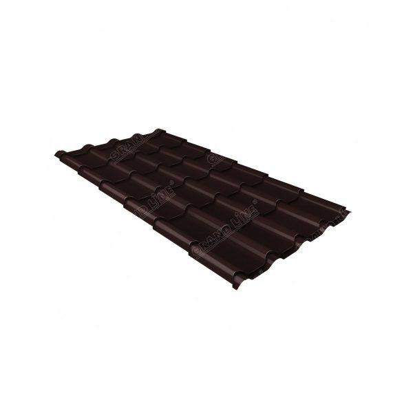 камея 0,45 Drap RAL 8017 шоколад