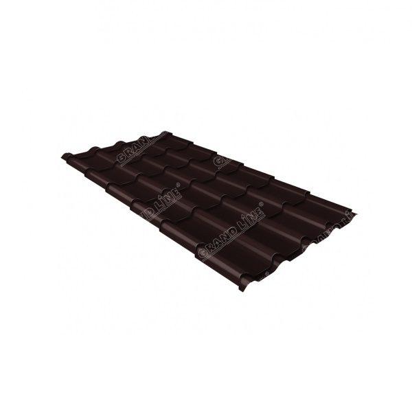 камея 0,45 PE-Matt RAL 8017 шоколад