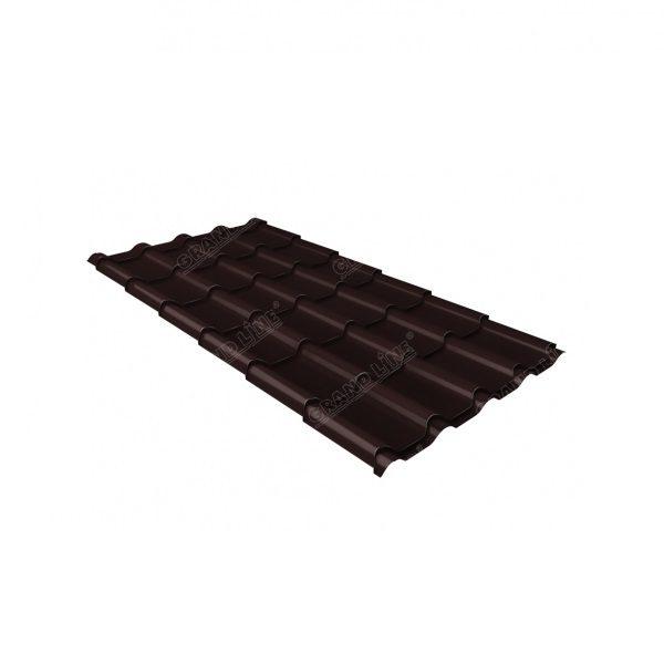 камея 0,45 PE RAL 8017 шоколад