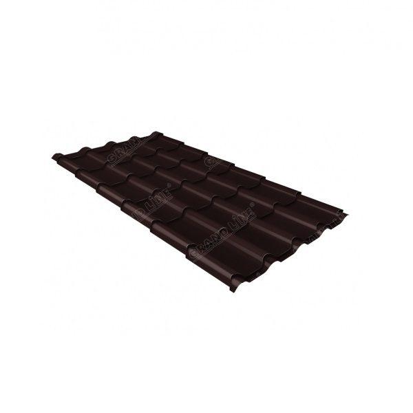 камея 0,5 Satin Мatt RAL 8017 шоколад