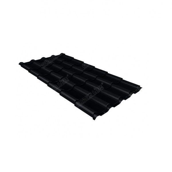 камея 0,5 Satin RAL 9005 черный