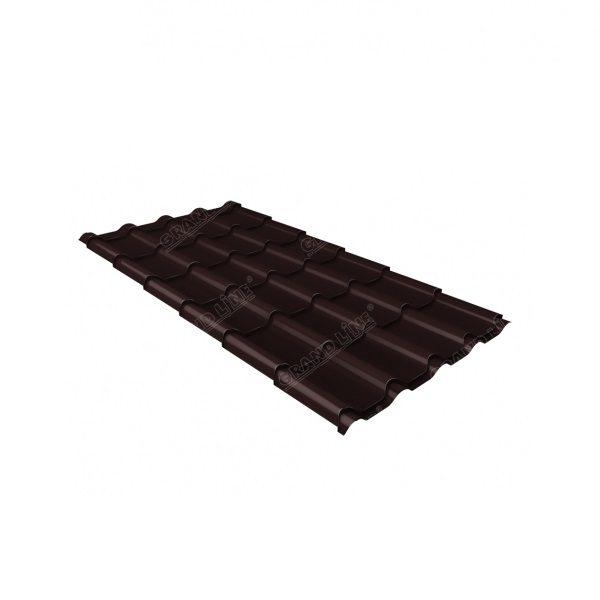 камея 0,5 Atlas RAL 8017 шоколад